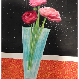 Roses in space