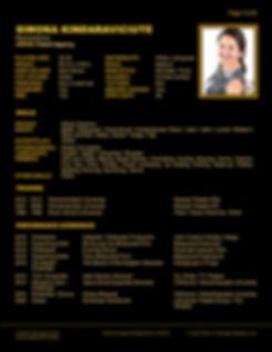 SIMONA KINDARAVICIUTE WEB CV (APR 2020)