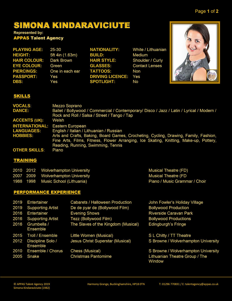 SIMONA KINDARAVICIUTE WEB CV (APR 2020)