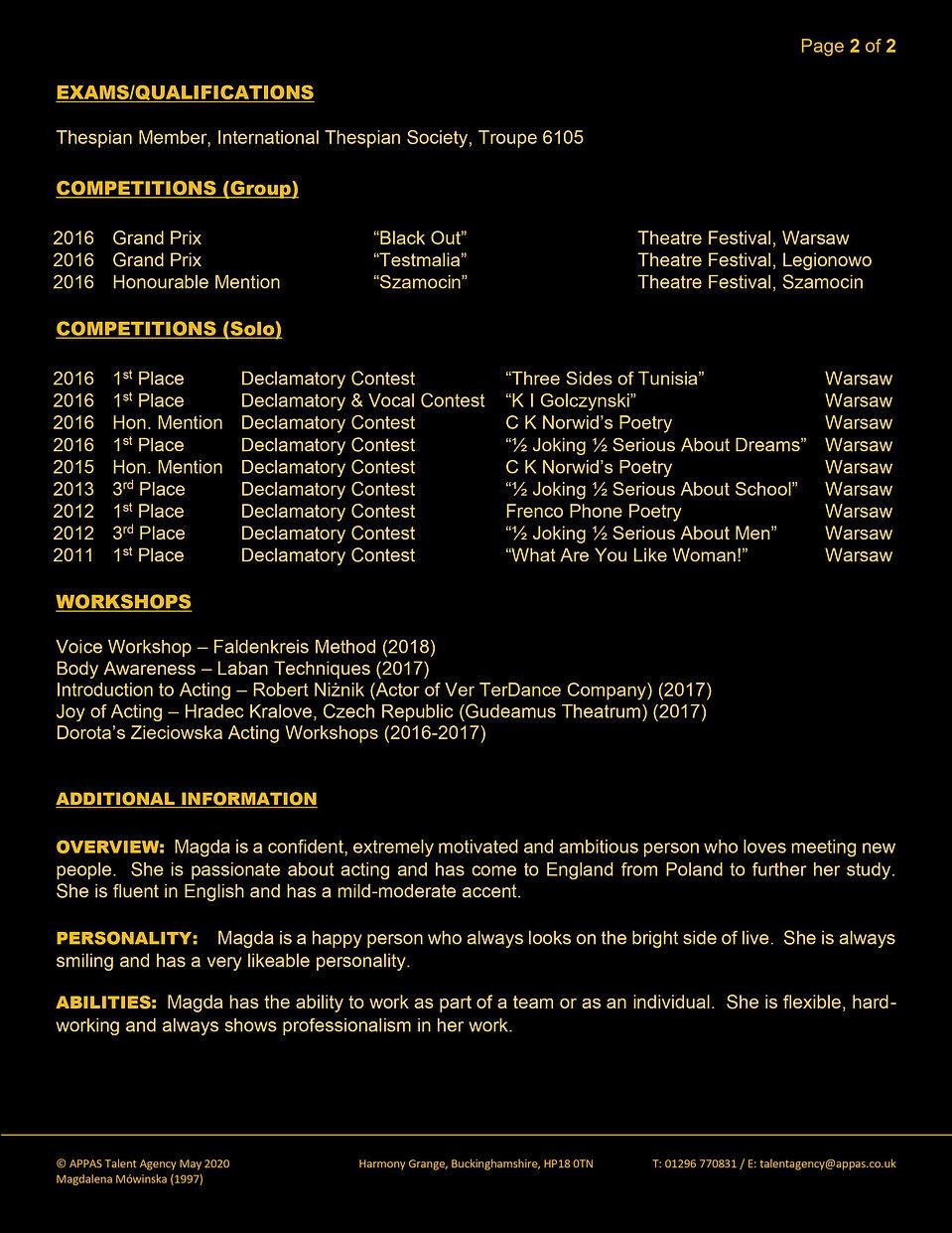 MAGDALENA MOWINSKA WEB CV (MAY 2020) 2.j