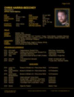 CHRIS HARRIS-BEECHEY WEB CV (DEC 2019) 1