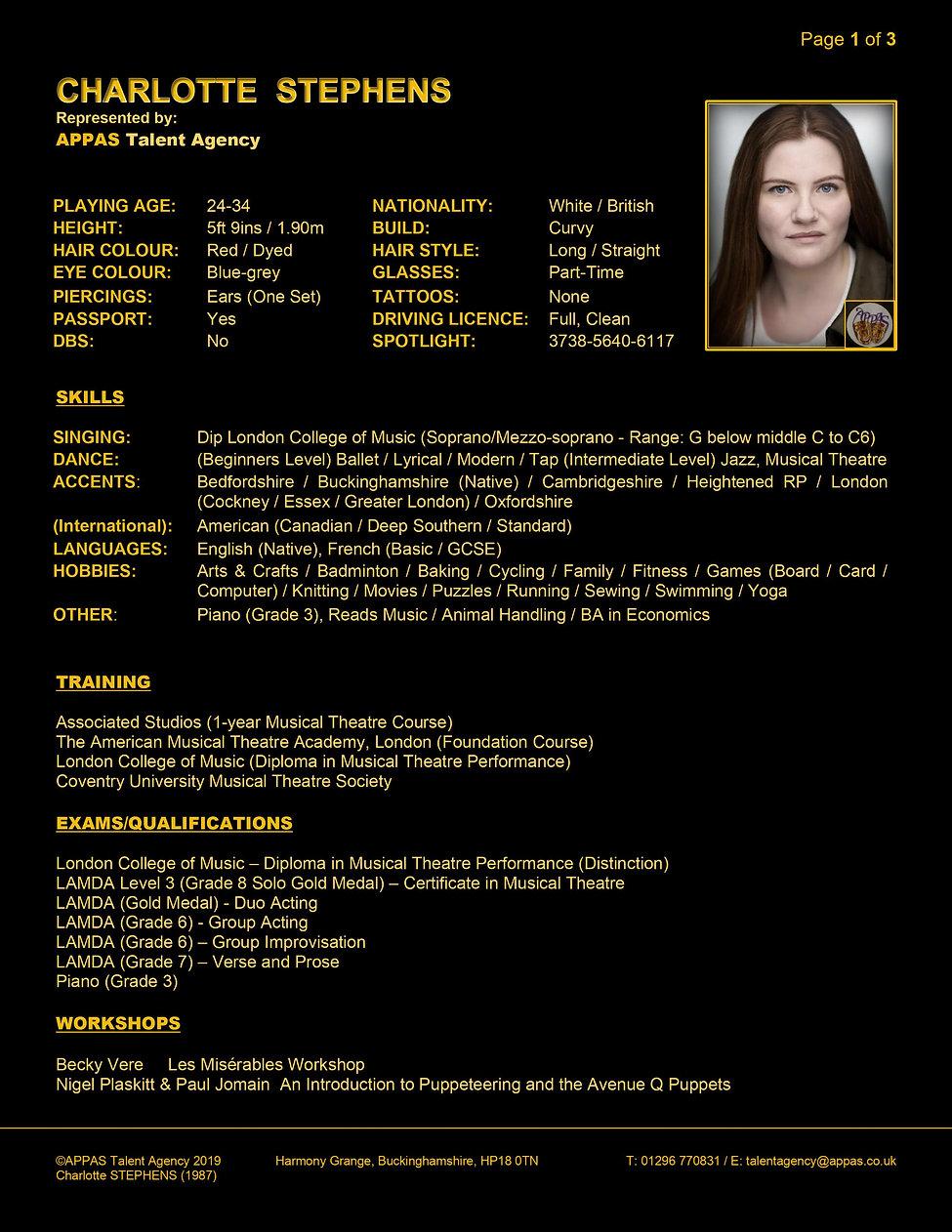 CHARLOTTE STEPHENS WEB CV (APR 2020) 1.j