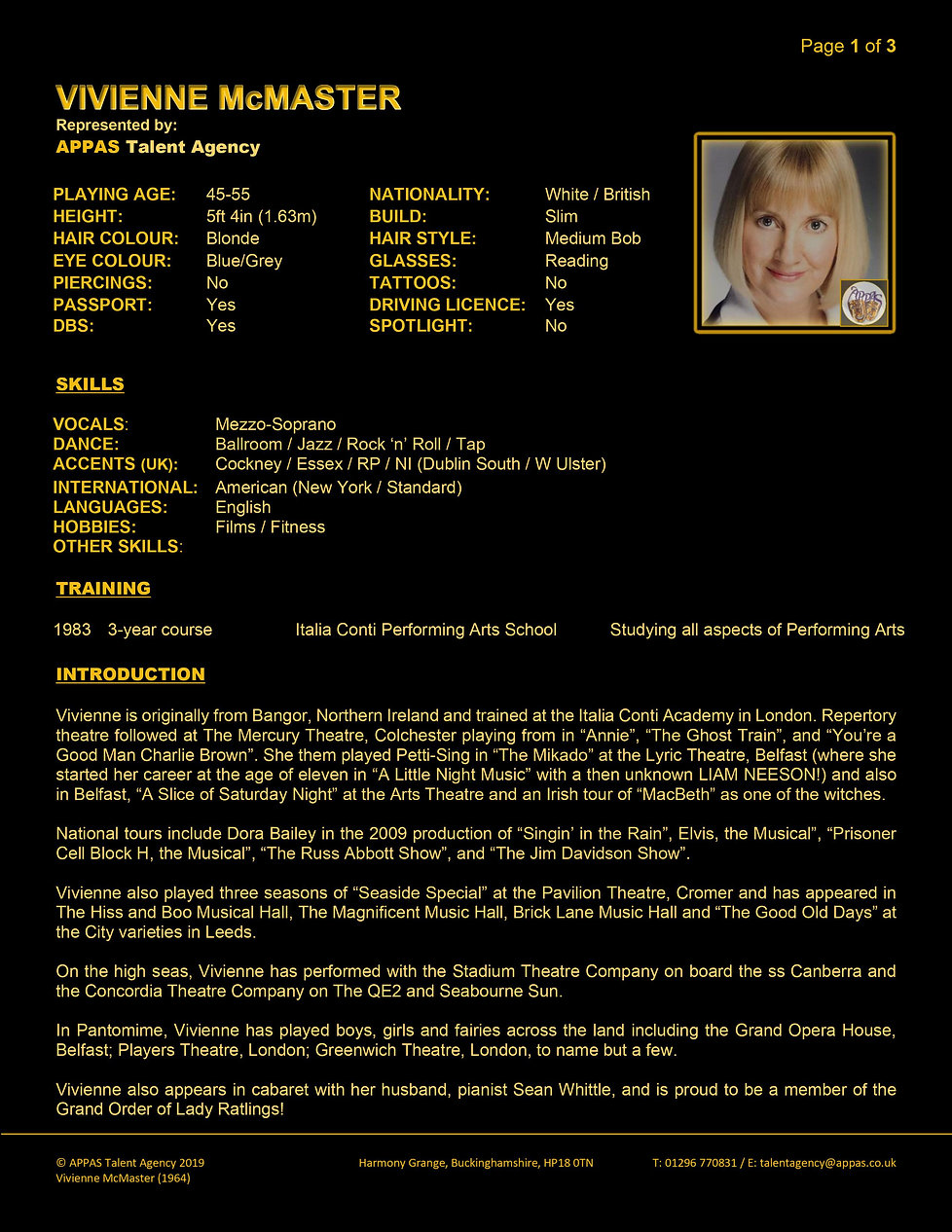 VIVIENNE McMASTER WEB CV (APR 2020) 1.jp