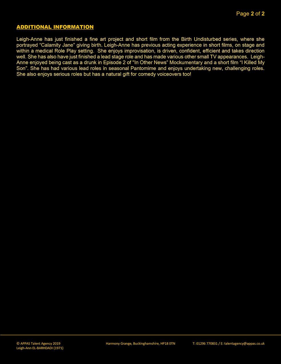 LEIGH-ANNE EL-BARHDADI WEB CV (MAR 2020)