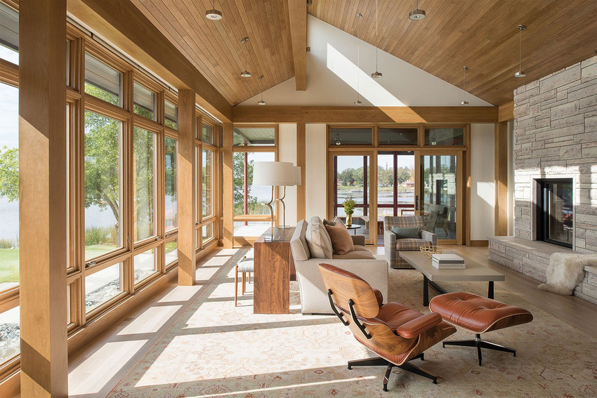 Martha Dayton Design: Northern MN River House