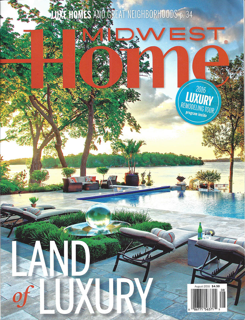 Martha Dayton Design: Midwest Home, August 2016