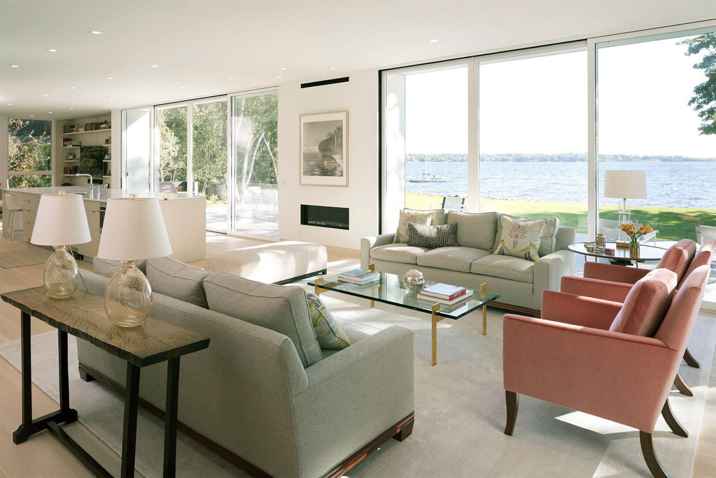 Martha Dayton Design: Lake Minnetonka Modern