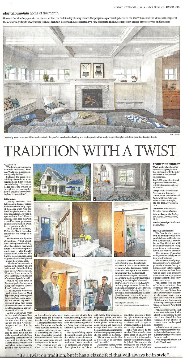 Martha Dayton Design: Star Tribune