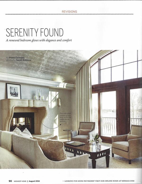 Martha Dayton Design: Midwest Home, August 2016