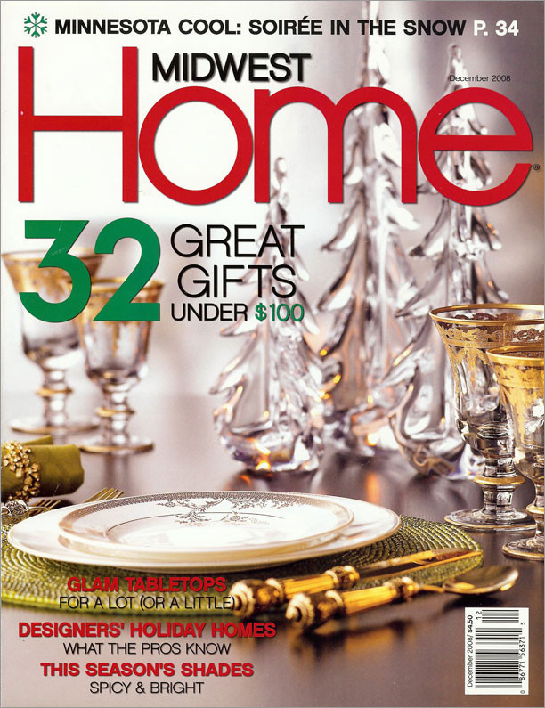 Martha Dayton Design: Midwest Home, December 2008