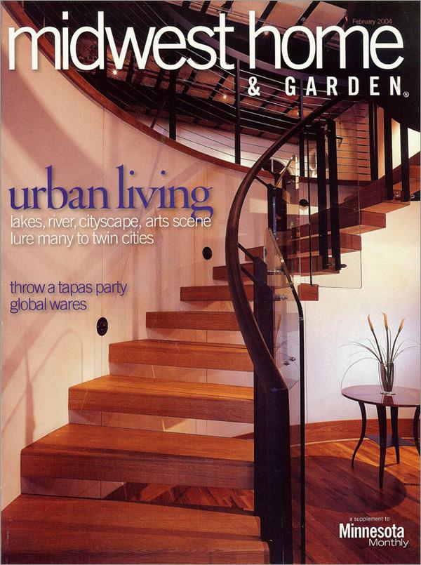 Martha Dayton Design: Midwest Home, February 2004