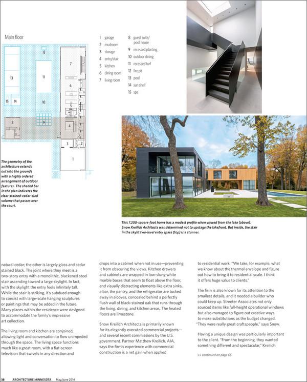 Martha Dayton Design: Architecture MN, May/June 2014