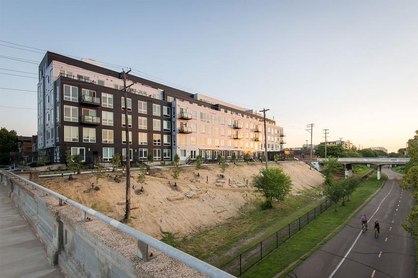 Martha Dayton Design: Lyndy Apartments