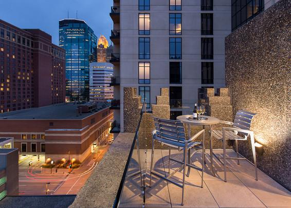 Martha Dayton Design: Hotel Ivy Penthouse Suite