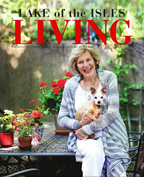 Martha Dayton Design: Lake of the Isles Living, August 2015