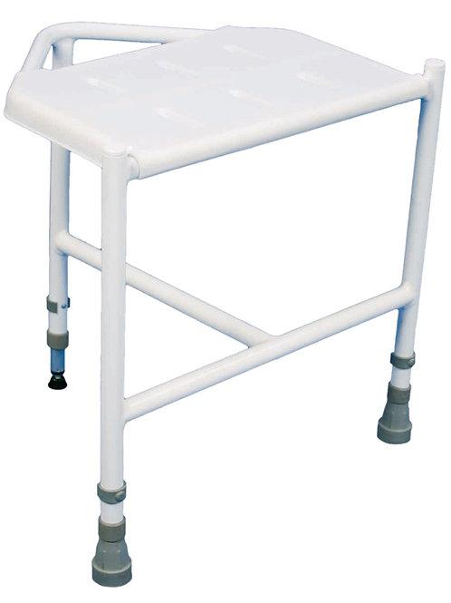 Pembury Height Adjustable Corner Shower Stool