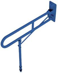 The Solo Contract Hinged Arm Support - Blue