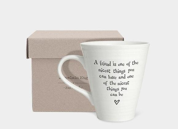 Friend - Porcelain mug