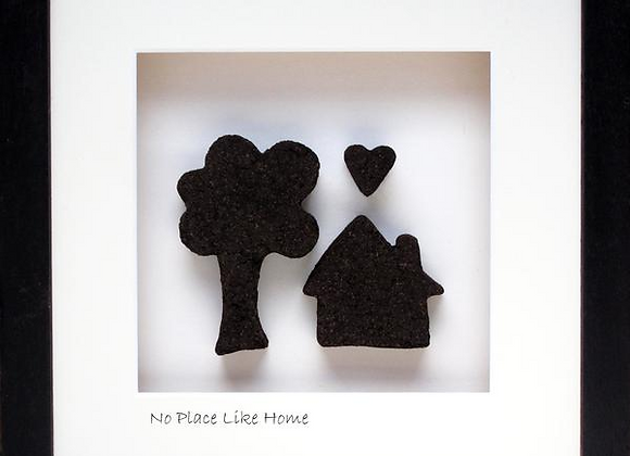 No place like home handcrafted with real Irish bog