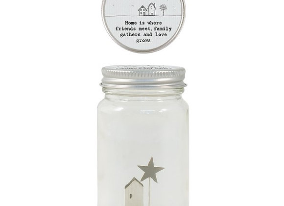 World in a jar-Home is where...