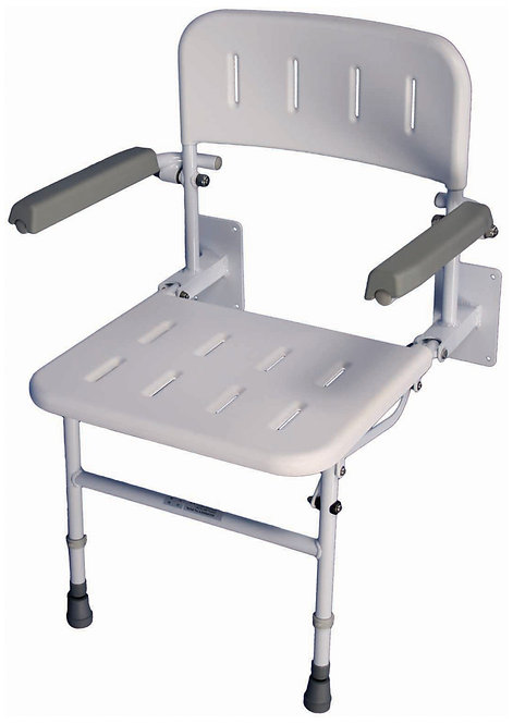 Solo Deluxe Shower Seat with Arms