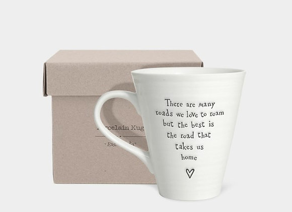 Road  that takes us home- Porcelain mug