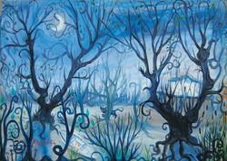 Igor Vasiljev, Blue landscape