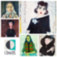 Igor Vasiljev, art gallery canvas, portrait, self-portrait, best art exhibition, oil painting