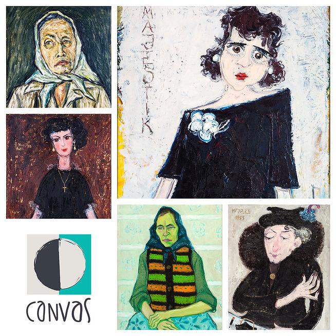 portret, autoportret, Igor Vasiljev, portret igora vasiljeva, galerija slika canvas, najbolja izlozba slika, portret, autoportret