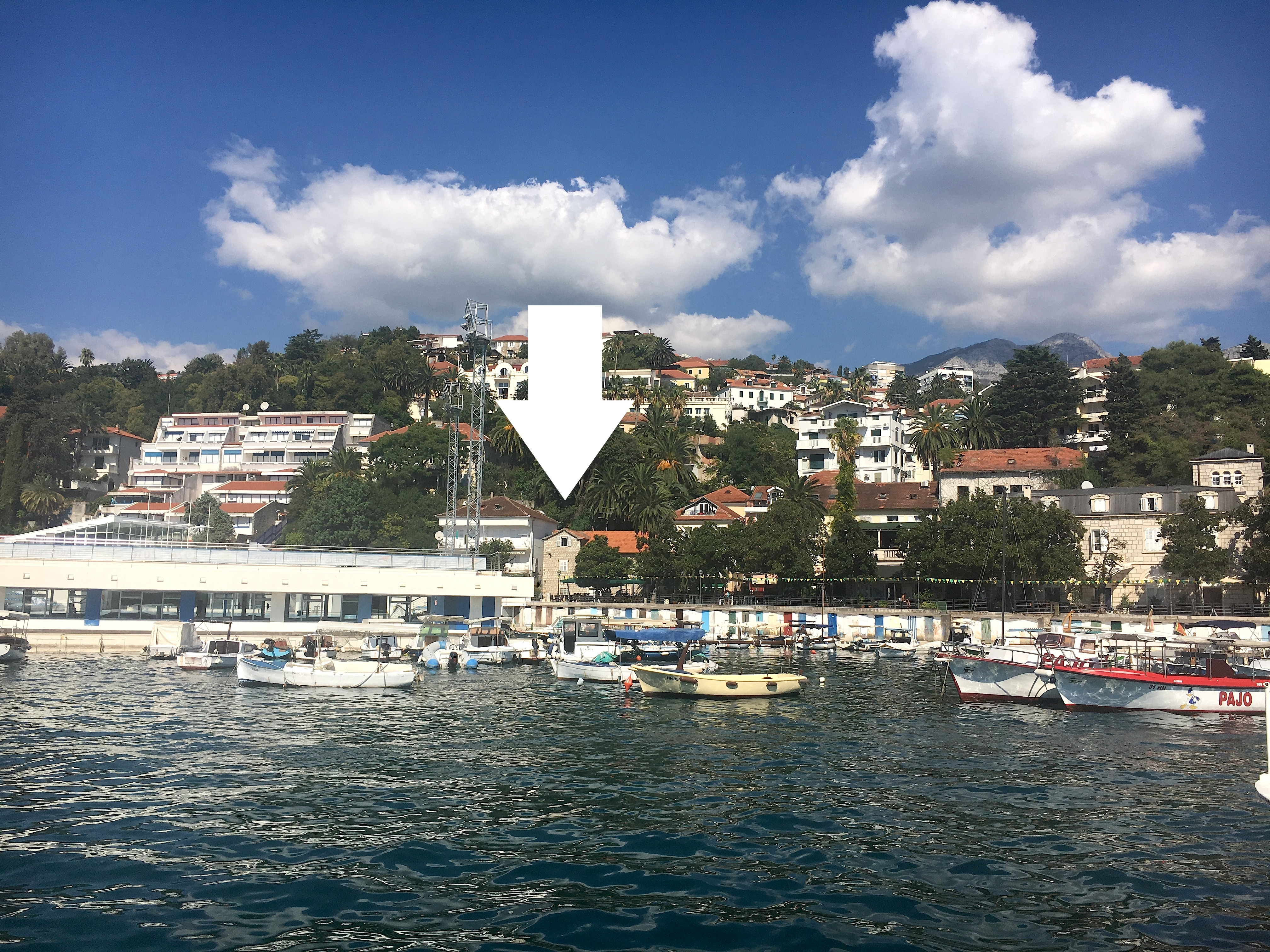 Herceg Novi city, Montenegro