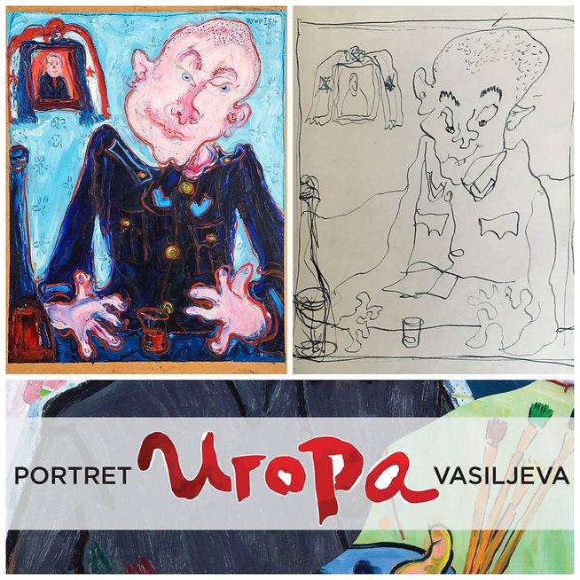 Igor Vasiljev, portret igora vasiljeva, galerija slika canvas, najbolja izlozba slika, portret, autoportret