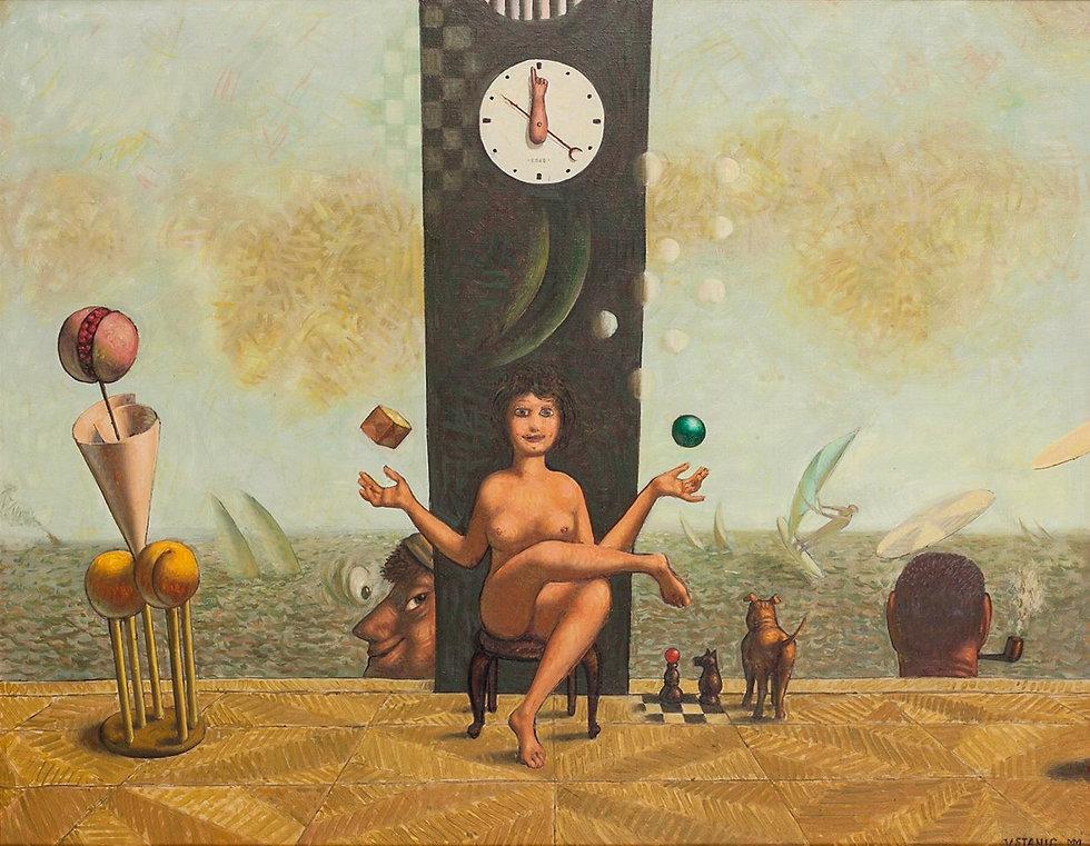 vojo stanic, slika na prodaju, otkup slika, galerija canvas, ravnoteza, izlozba slika ravnoteza
