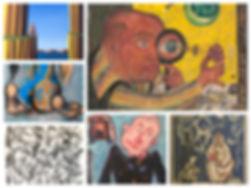 art gallery canvas, paintings for sale, oil painting, vojo stanic, petar lubarda, igor vasiljev