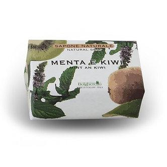 Menta e Kiwi 薄荷&奇異果植萃皂