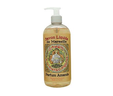 流動時光 精油馬賽液體皂 - 純淨白杏仁 500ml