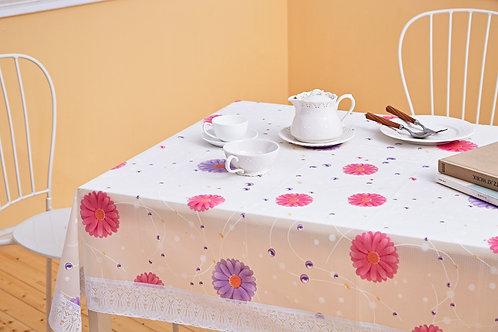 花漾長方桌巾