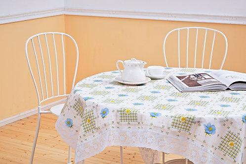 花漾圓形桌巾