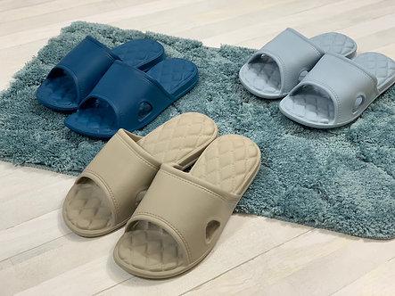 菱格抗菌防滑拖鞋