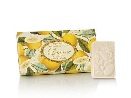 SAF洗顏皂 三入組 - 檸檬