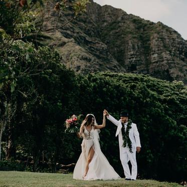 Brandon & Jayda's Jurassic Destination Wedding