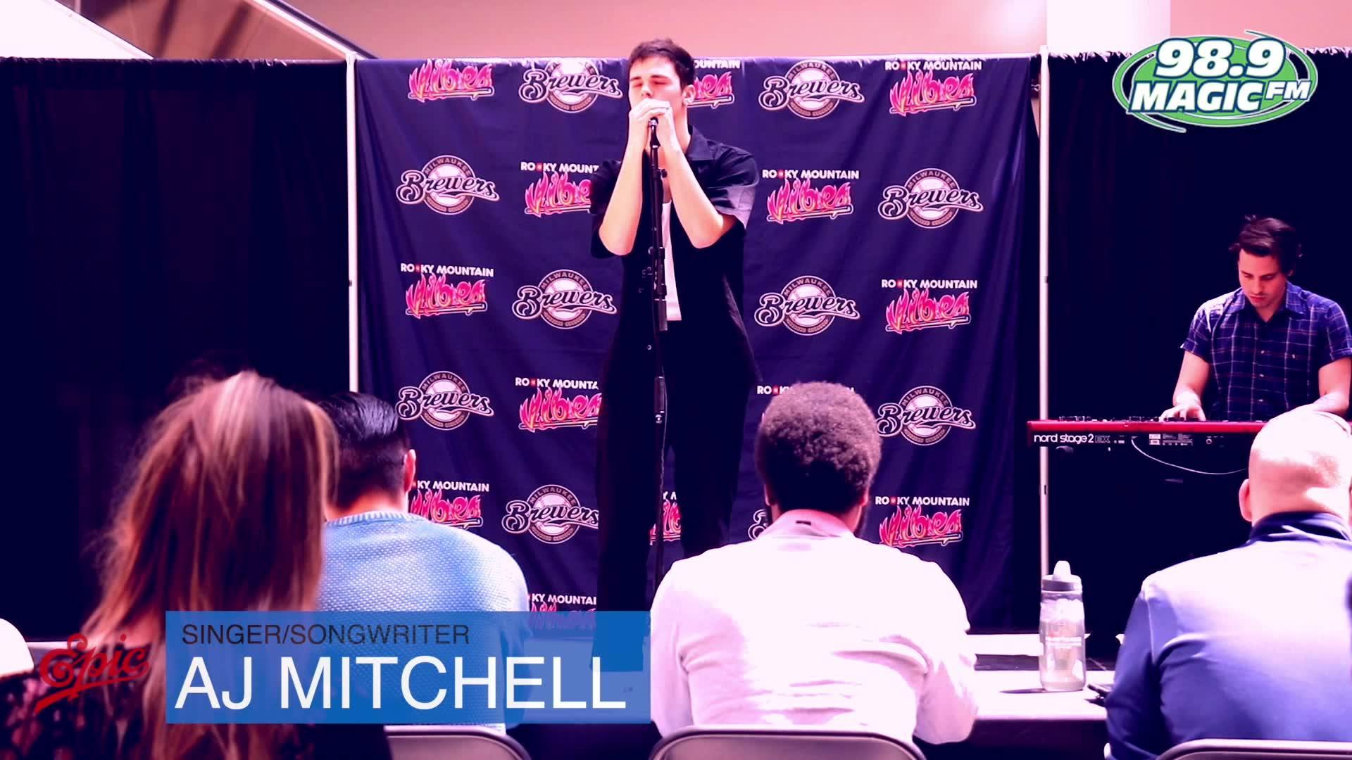 AJ Mitchell at Chapel Hills With Magic FM