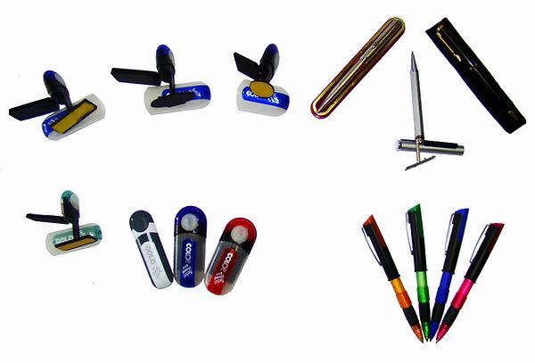 canetas carimbos, PenStamp, carimbo de bolso (Pocket Stamp)