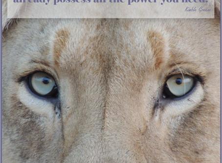 I Am Woman...Hear Me Roar!