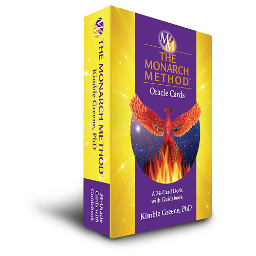 The Monarch Method Oracle Card Deck & Guidebook