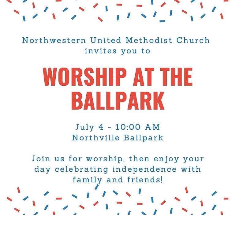 Worship at the Ballpark