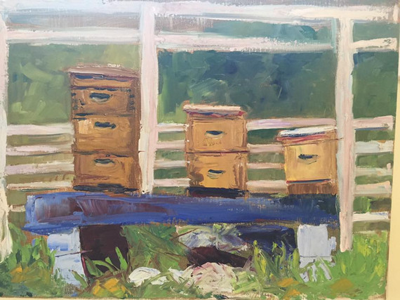 Painting 20 _Bee Boxes_ SOLD.jpg