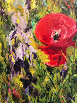 Painting 43 (18x24) Oil _Giverny 2_ .JPG