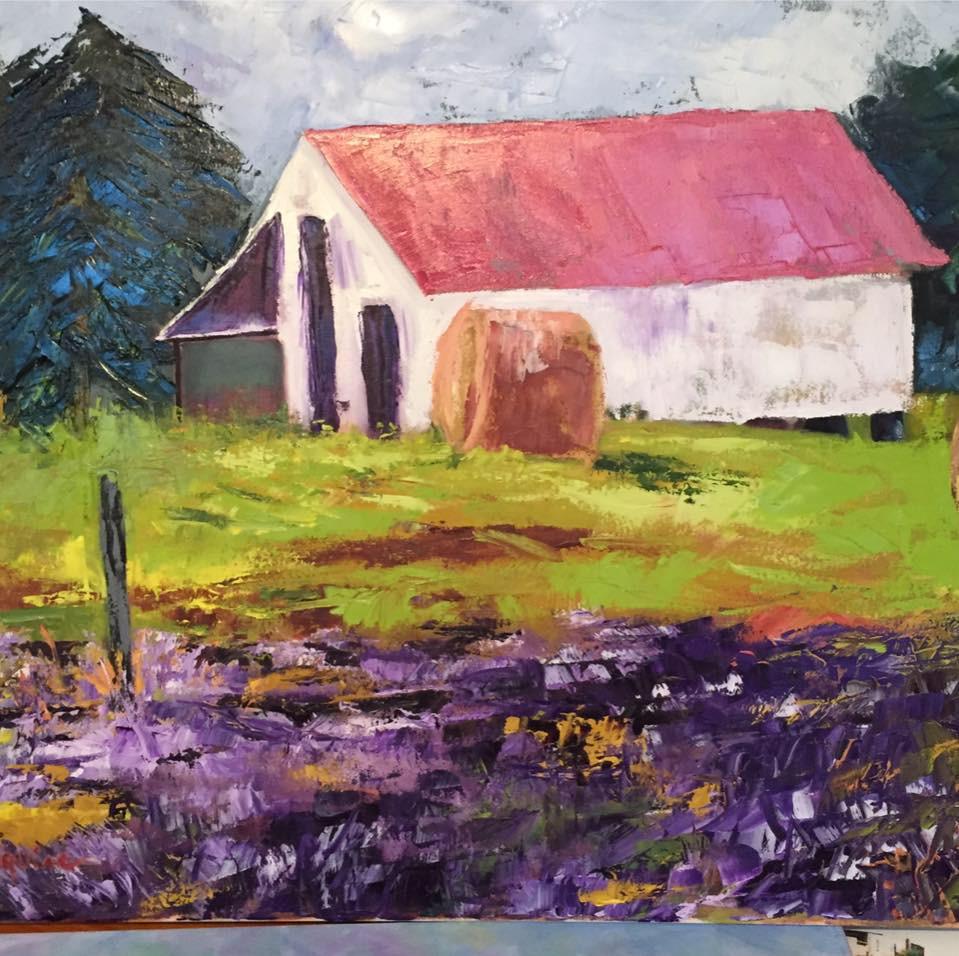 Painting 26 framed Oil _Allen-Meade's Farm_ .jpg