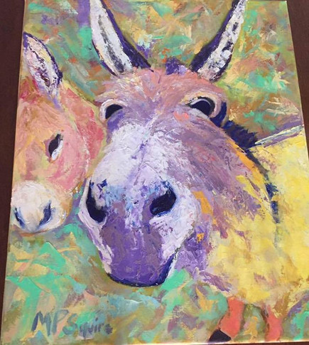 Painting 16 _farm donkeys_ Barker SOLD.jpg