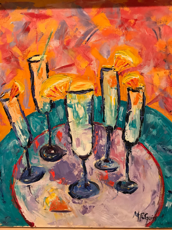 Painting 38 (21x17) Oil _Mimosa Party_.JPG